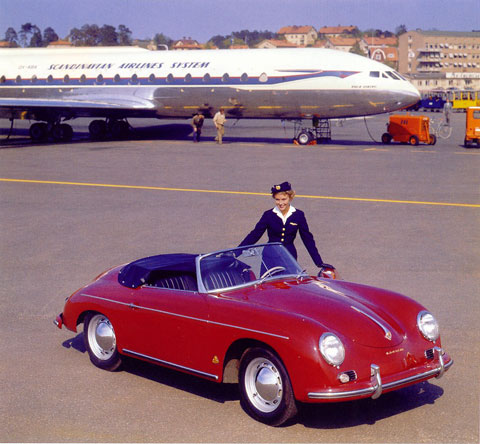 Vintage Porsche Publicity Photo For The New Convertible D Model Credit C Courtesy Of Speedster Typ 540