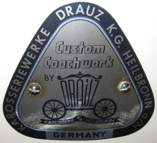 Drauz coachbuilder badge